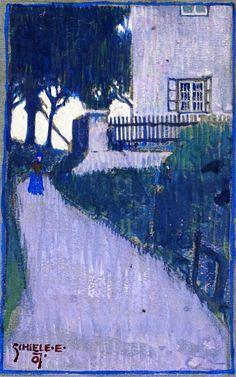 Egon Schiele, 1907