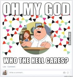 How I feel about all these year in review videos on Facebook