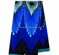 African fabric/ Java African Fabric/ Java by TessWorldDesigns
