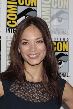 Kristin Kreuk at the BEAUTY AND THE BEAST Press Room at Comic-Con 2012. (©2012 CBS Broadcasting Inc. All Rights Reserved.)