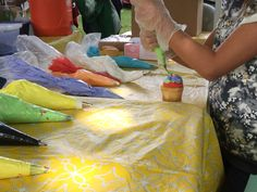 Cupcake decorating classes are on of the many fun hands on activities offered at the Halls Creek Festival of Creativity. Hands On Activities, Cupcake, Creativity, Decorating, Fun, Painting, Decor, Decoration, Cupcakes