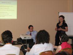 Corso di formazione Fare affari con i social network, tenuto nel 2009 per Connecting-Managers a Verona