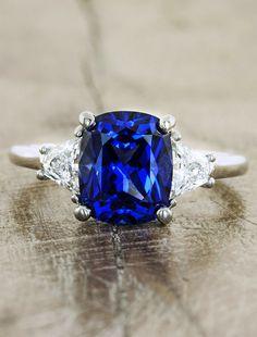 Sapphire & Gemstone Engagement Rings   Ken & Dana Design