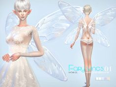 Fairy wings for you, you can find it in hat  Found in TSR Category 'Sims 4 Female Hats'