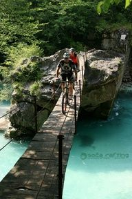 Mountain biking in Bovec, Slovenia