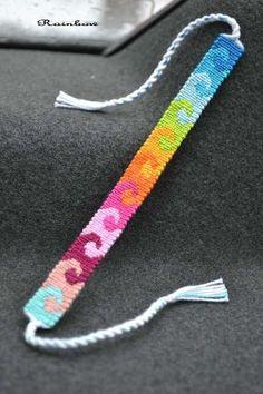Diy Bracelets Patterns, Yarn Bracelets, Diy Bracelets Easy, Embroidery Bracelets, Summer Bracelets, Bracelet Crafts, Braided Bracelets, Cute Bracelets, Ankle Bracelets