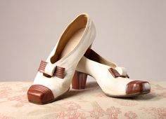 Vintage 1940s Heels by machinedance on Etsy, $68.00