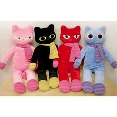Team of mascottes? Check! 'iswas – 'Hello Cat' Series Doll' w/ Free International Shipping at YesStyle.com.