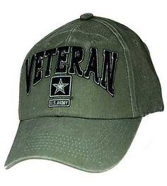 8a457b968b6 U.S. Army Veteran - O.D. hat