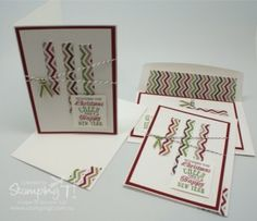 Stampin' Up! Stamping T! - Season of Style Wavy cards