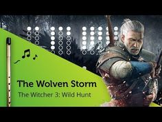 Priscilla's Song / The Wolven Storm (The Witcher Wild Hunt) on Tin Whistle D + tabs tutorial Native Flute, Tin Whistle, The Witcher 3, Wild Hunt, Original Song, Songs, Music, Youtube, Movie Posters
