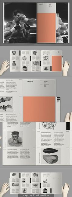 layout by Lucas D Machado on Behance