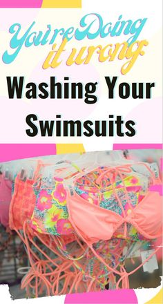 Find out the right way to wash your swimsuits on SHEfinds.com. Only Fashion, Fashion Beauty, Women's Fashion, Haute Couture Designers, Blog Tips, Cool Style, Cute Outfits, Swimsuits, Falling Apart