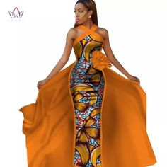 afrikanische kleider Not the original dress (photoshop). see below African Fashion Designers, African Inspired Fashion, African Print Fashion, Africa Fashion, Fashion Prints, African Wedding Dress, African Print Dresses, African Fashion Dresses, African Dress