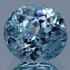 Handmade Faceted Loose Gemstone Zircon Oval 2.80 Ct. Semi Precious Stone