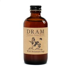 Cocktail Bitters By DRAM | Wild Mountain Sage – DRAM Apothecary