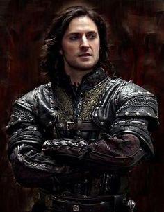 Richard Armitage as Guy of Gisborne in Robin Hood.