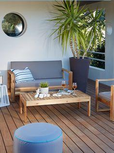 salon de jardin paname - Salon De Jardin Mtal Color