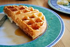 I know everyone tells me to try yeasted overnight waffles, but these are my go-to for now.