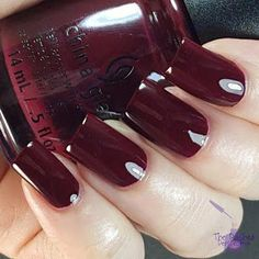 china glaze wine down for what Gifts For Wine Lovers, Wine Gifts, Nail Polish Designs, Nail Designs, Carbs In Beer, Wine Nails, Wine Safari, Wine Down, Wine Baskets
