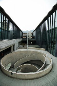 Hyogo Prefectural Museum of Art by Tadao Ando, Hyogo region, Japan