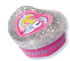 SES Glitter dreams - jewellery boxes #jewels #jewellery #boxes #glitterdreams #glitter #sieradendoosje #sieraden #doosjes #creatief