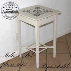 Gustaviansk mini bord  Mix af Milk&Dolphin