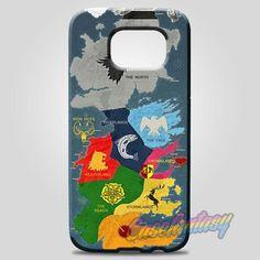 Map Game Of Thrones 1 Samsung Galaxy Note 8 Case Case | casefantasy