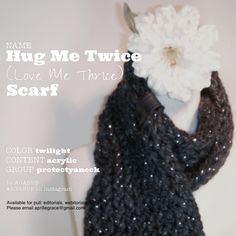 Hug Me Twice (Love Me Thrice) | Wrap Scarf | Handmade | Available for pull: open to fashion and entertainment related projects including fine art photography, editorials, webitorials, webisodes, student film, short film, feature film, carpet events, etc. | aprillegrace@gmail.com