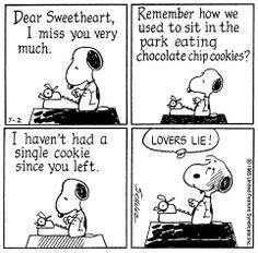 Peanuts....'Lover's Lie'