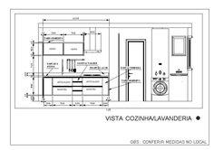 Vista Cozinha/Lavanderia 1
