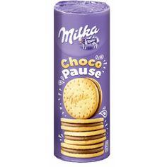 1 pack Milka Choco Pause / Cookies 260 g # from Germany for sale online I Love Milka, Cinnamon Pop Tart, Milka Chocolate, Whole Milk Powder, Chocolate Packaging, Dessert Drinks, American Food, New Flavour, Yummy Cookies
