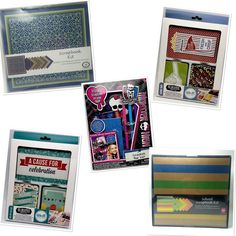 Scrapbook Sets and Kits School Birthdays Memories We R Memory Keepers Albums Made Easy Journaling Cards Double-Sided Various themed sets available. Use drop down box to choose your favorites. Jet Set Albums Made Easy Journal Cards, 100pk includes: This collection contains all of the journal cards you Could ever want for your scrapbooking projects They come in a variety of great colors, designs, and phrases This package contains Forty-eight 3  x 4  cards (4 each of 12 designs), Twenty-four 4…