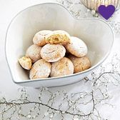 Buy Perfect Little Presents > Perfect Little Presents > Stoneware Heart Serving Bowl from The White Company