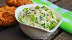 Kedlubnový salát se šunkou a cottage Vegetable Salad, Vegetable Recipes, No Salt Recipes, Cooking Recipes, Czech Recipes, Ethnic Recipes, Junk Food, Guacamole, Potato Salad