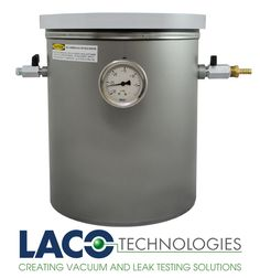 #LACO Vertical Industrial (VI) series vacuum chambers feature a vertical cylindrical design with loading from the top. The stainless steel or aluminum chamber body construction is strong and can achieve vacuum performance down to 0.005 Torr. An acrylic lid allows you to view your application process. http://www.lacotech.com/vacuumchambers/stockvacuumchambers/stockvacuumchambers+lvc1012-3111-vi.aspx