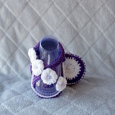 Girl Shoes Baby Girl Shoes Girl Sandals Baby by DaisyNeedleWorks