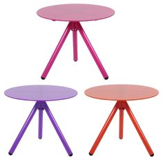 Misy glass top table in a variety of colours