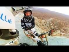 Subjective view of a RedBull Rampage Rider... INSANE!