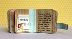 sweet little anniversary mini book