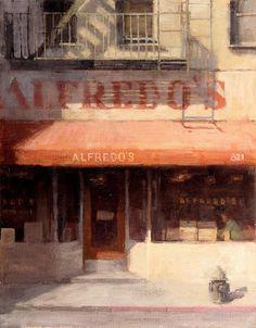 Terry Miura - Alfredo's 18 x 14 inches oil on linen