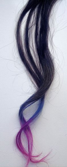 3-colour dip dyed extensions for dark hair! https://www.etsy.com/listing/98163616/tri-colour-dip-dyed-extensions-2-wide
