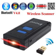 66.99$  Buy now - http://ali7tb.worldwells.pw/go.php?t=32717203378 - Free Shipping!MJ-2877 Wireless 2D Barcode Scanner Bluetooth V4.0 QR Bar code Reader With Bluetooth Receiver