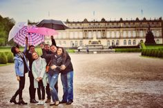 Friends in Germany, Herrenchiemsee Castle