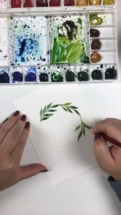 do lists or books Watercolor time! Watercolor Flowers Tutorial, Watercolour Tutorials, Simple Watercolor Flowers, Drawing Flowers, Butterfly Watercolor, Floral Watercolor, Watercolor Paintings For Beginners, Watercolor Techniques, Watercolor Art Paintings