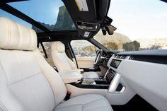 Range Rover 2013 Interior.