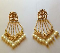 Cascade earrings-Manjusha by Jyotsna Singh
