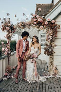Intimate Wedding Ceremony, Elope Wedding, Boho Wedding, Wedding Dresses, Outdoor Ceremony, Coastal Wedding Ideas, Spring Wedding, Wedding Shoes, Wedding Bouquets