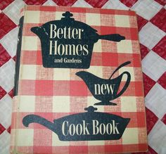 Vintage Better Homes and Gardens - on Mom's kitchen shelf