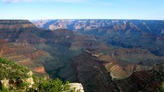 The Colorado River started its work creating the Grand Canyon more than 20 million years ago.